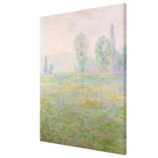 Wiesen Claude Monets | in Giverny, 1888 Leinwanddruck