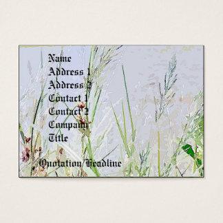 Wiesen-Gras-Wildblumen-Blumen Visitenkarte