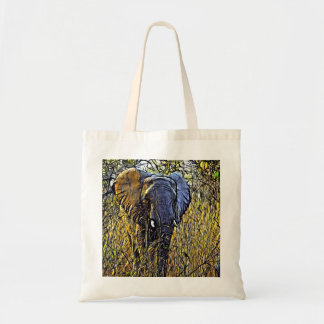 Wiesen-wilde Safari-Tierkunst-afrikanischer Tragetasche