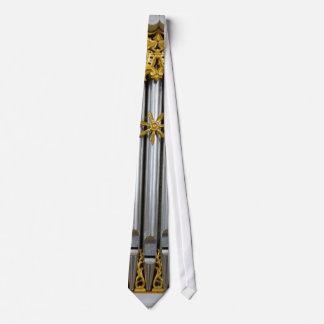 Wieskirche Kammer-Orgelpfeife-Krawatte Bedruckte Krawatten