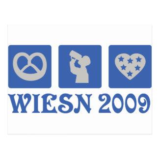 wiesn 2009 postkarte