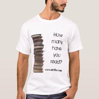 Wieviele haben Sie gelesen? T-Shirt