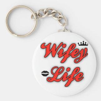 Wifey Leben Keychain Schlüsselanhänger