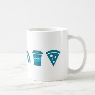 WiFi-Kaffee-Pizza Kaffeetasse