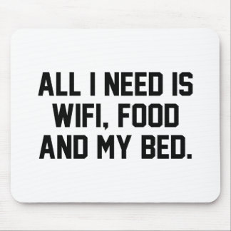 WifiFoodBed1A Mousepad