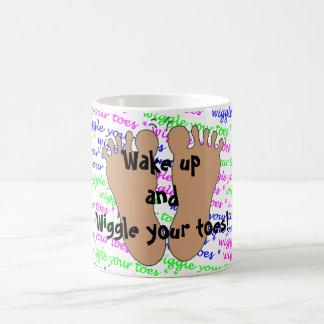 Wiggle Ihre Zehen! -- Tasse