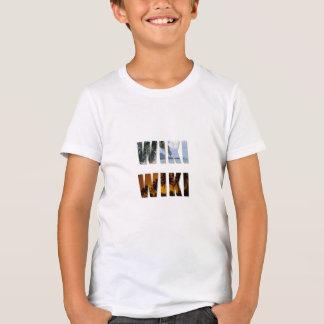 Wiki-Wiki landschaftliches Drucksweatshirt T-Shirt