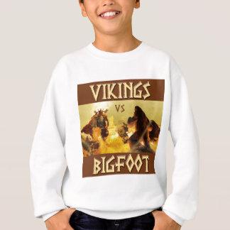 WIKINGER gegen BIGFOOT - lustige Fantasie Mashup Sweatshirt