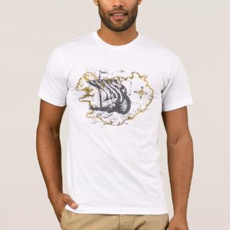 Wikinger-Karten-Shirt T-Shirt