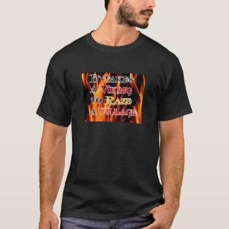 Wikinger Raze Dorf T-Shirt