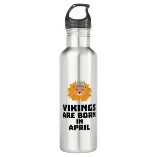 Wikinger sind geborene im April Zxa47 Edelstahlflasche