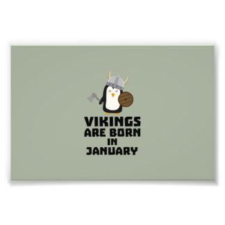 Wikinger sind geborene im Januar Zmwc7 Fotodruck
