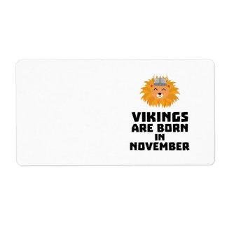 Wikinger sind geborene im November Zur82