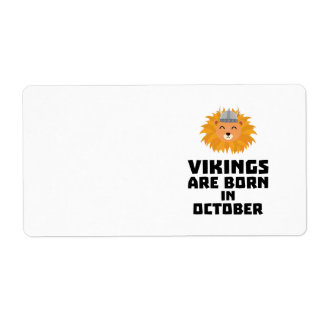 Wikinger sind geborene im Oktober Z0v8r