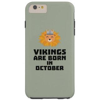 Wikinger sind geborene im Oktober Z0v8r Tough iPhone 6 Plus Hülle