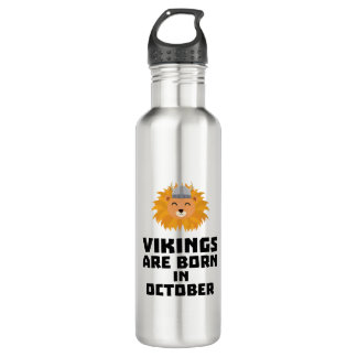 Wikinger sind geborene im Oktober Z0v8r Trinkflasche