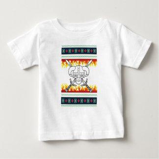 Wikinger-Weihnachten Baby T-shirt