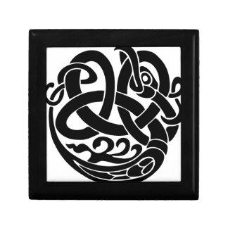 Wikinger-Weltschlangen-Weltesser Jormungandr Geschenkbox