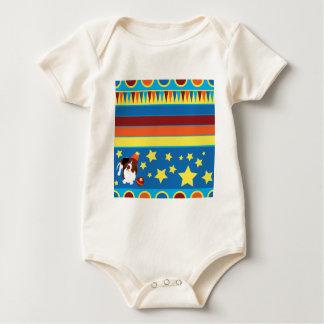 Wilbur der Zirkus-Dachshund Baby Strampler
