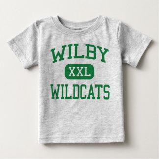 Wilby - Wildkatzen - hoch - Waterbury Connecticut Baby T-shirt