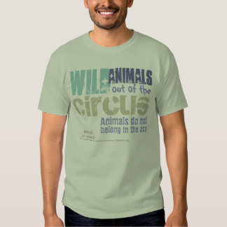 Wild animals out of the circus -.- T-Shirts