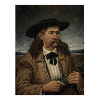 Wild Bill Hickok-Malen Postkarte