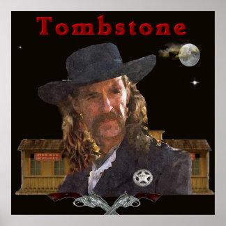 Wild Bill Hickok-Plakat Poster