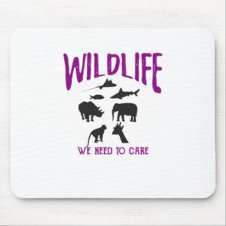 Wild lebende Tiere, die wir uns Mausunterlage Mauspad