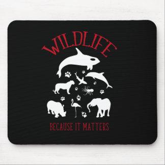 Wild lebende Tiere, weil es Mauspad
