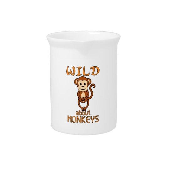 Wild über Affen Krug