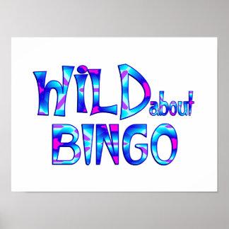 Wild über Bingo Poster