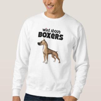 wild über Boxer Sweatshirt