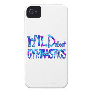 Wild über Gymnastik iPhone 4 Cover