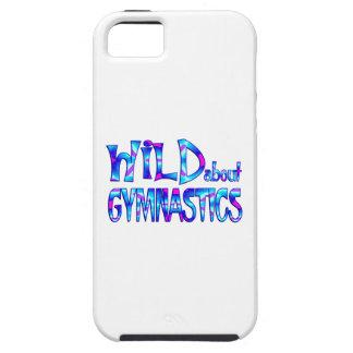 Wild über Gymnastik iPhone 5 Hülle
