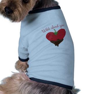 Wild über Sie Hund T Shirts