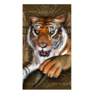 Wild über Tiger Visitenkarten
