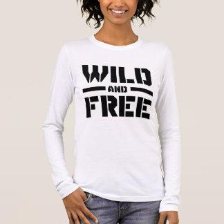 Wild und frei langarm T-Shirt