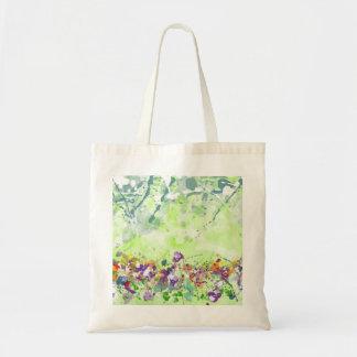 Wildblume-Budget-Tasche