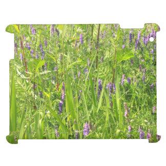 Wildblume - büschelige Wicke iPad Hülle
