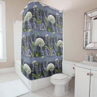 Wildblume Duschvorhang