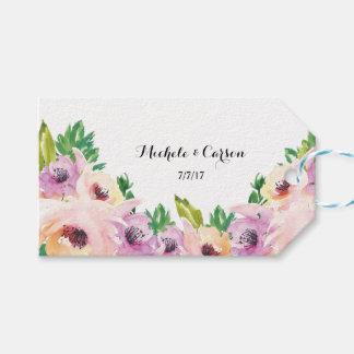 Wildblume-Geschenk-Umbauten Geschenkanhänger