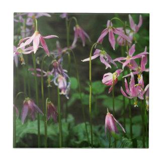 Wildblumen - Kitz-Lilien Keramikfliese
