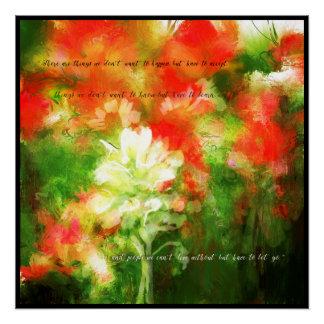 Wildblumen Poster
