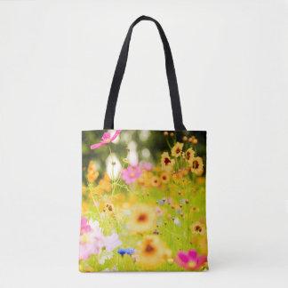 Wildblumen Tasche