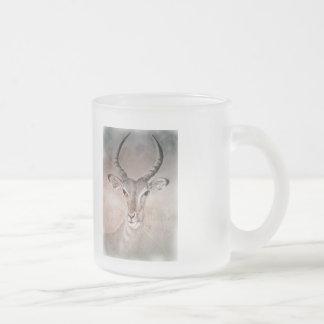 Wilde Antilopen-Tasse Mattglastasse