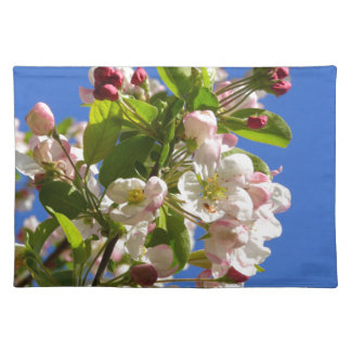 Wilde Apfelbaumblüten Tischset