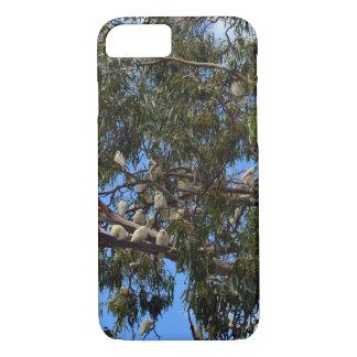 Wilde australische weiße Cockatoos, iPhone 8/7 Hülle