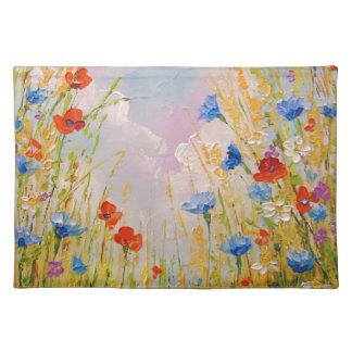 Wilde Blumen Tischset