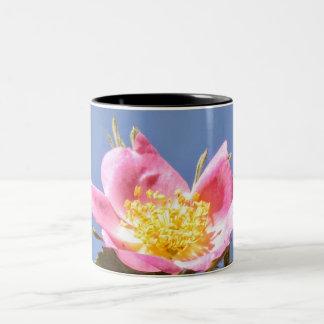 Wilde Blumen Zweifarbige Tasse