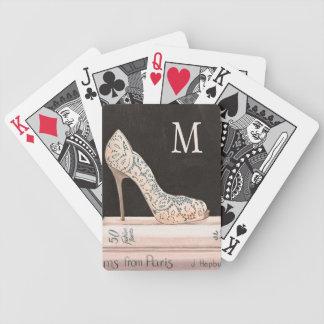 Wilde elegante Absatz-Mode Apples | Bicycle Spielkarten